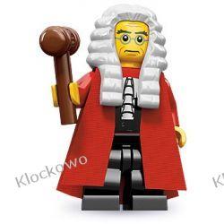 71000 SĘDZIA (Judge) - KLOCKI LEGO MINIFIGURKI Straż