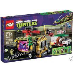 79104 POŚCIG ULICZNY (The Shellraiser Street Chase) - KLOCKI LEGO TURTLES Straż