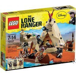 79107 OBÓZ KOMANCZÓW (Comanche Camp) - KLOCKI LEGO LONE RANGER  Straż