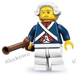 71001  ŻOŁNIERZ REWOLUCJI (Revolutionary Soldier) - 10 SERIA LEGO MINIFIGURKI