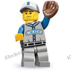 71001  BASEBALLISTA (Baseball Fielder) - 10 SERIA LEGO MINIFIGURKI