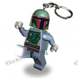MINI LATARKA LED LEGO - BOBA FETT (Key Light Boba Fett) - BRELOK W PUDEŁKU Straż