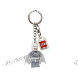 850815 BRELOK BIAŁY BATMAN (DC Universe Super Heroes Arctic Batman Key Chain)  LEGO BATMAN