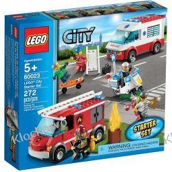 60023 ZESTAW STARTOWY LEGO CITY (LEGO City Starter Set) KLOCKI LEGO CITY