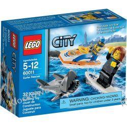 60011 NA RATUNEK SURFEROWI (Surfer Rescue) KLOCKI LEGO CITY