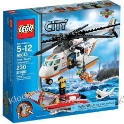 60013 HELIKOPTER STRAŻY PRZYBRZEŻNEJ (Coast Guard Helicopter) KLOCKI LEGO CITY