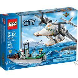60015 SAMOLOT STRAŻY PRZYBRZEŻNEJ (Coast Guard Plane) KLOCKI LEGO CITY