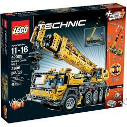 42009 RUCHOMY ŻURAW MK II ( Mobile Crane MK II) KLOCKI LEGO TECHNIC Straż