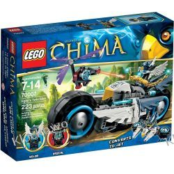 70007 MOTOCYKL EGLORA (Eglor's Twin Biket) KLOCKI LEGO LEGENDS OF CHIMA Straż