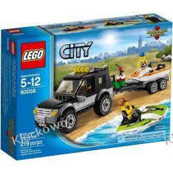 60058 TERENÓWKA ZE SKUTERAMI (SUV with Watercraft) KLOCKI LEGO CITY