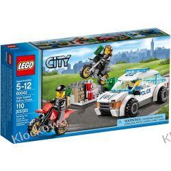 60042 POŚCIG POLICYJNY (High Speed Police Chase) KLOCKI LEGO CITY Straż