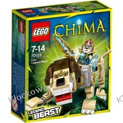 70123 LEW (Lion Legend Beast) KLOCKI LEGO LEGENDS OF CHIMA  Straż