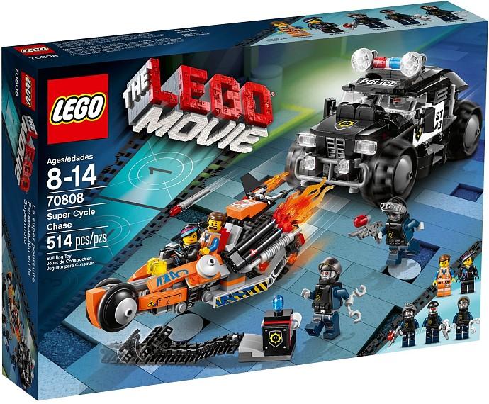 70808 Wyścig Superpojazdów Super Cycle Chase Klocki Lego Movie