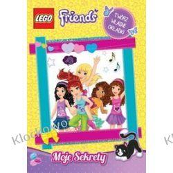 KSIĄŻKA LEGO FRIENDS - MOJE SEKRETY Straż