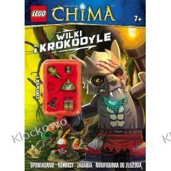 KSIĄŻKA LEGO LEGENDS OF CHIMA - WILKI I KROKODYLE Straż