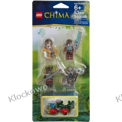 850910 ZESTAW FIGUREK LEGO CHIMA (Legends of Chima Minifigure Accessory Set) - LEGO CHIMA Straż