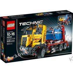 42024 CIĘŻARÓWKA DO PRZEWOZU KONTENERÓW (Container Truck) KLOCKI LEGO TECHNIC Straż