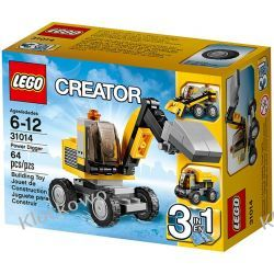 31014 KOPARKA (Power Digger) KLOCKI LEGO CREATOR 3 W 1 Straż