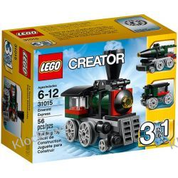 31015 EKSPRES (Emerald Express) KLOCKI LEGO CREATOR 3 W 1 Straż