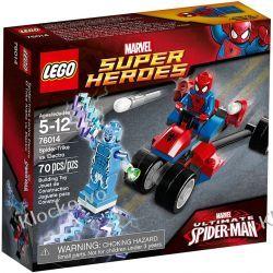 76014 TRÓJKOŁOWIEC PAJĄKA VS ELECTRO (Spider-Trike vs. Electro) - KLOCKI LEGO SUPER HEROES Straż
