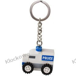 850953  BRELOK Z POJAZDEM POLICYJNYM (Police Car Bag Charm) LEGO CITY