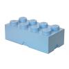 POJEMNIK LEGO 8 JASNONIEBIESKI - LEGO POJEMNIKI