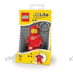 MINI LATARKA LED LEGO - KOSMONAUTA CZERWONY (Spaceman Key Light) - BRELOK