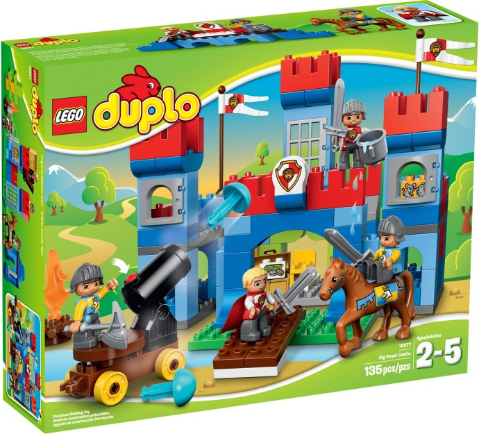 10577 Zamek Królewski Big Royal Castle Klocki Lego Duplo Lego
