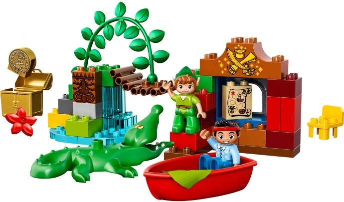 10526 Odwiedziny Piotrusia Pana Peter Pans Visit Klocki Lego