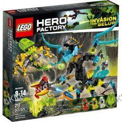 44029 KRÓLOWA Z GŁĘBIN (QUEEN Beast vs. FURNO, EVO & STORMER)  KLOCKI LEGO HERO FACTORY Straż