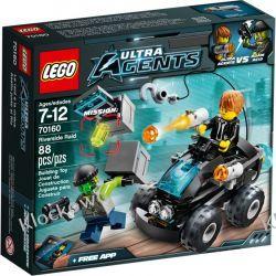 70160 POŚCIG QUADEM (Riverside Raid) - KLOCKI LEGO AGENTS Straż