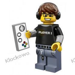 71007 - GRACZ -  12 SERIA LEGO MINIFIGURKI