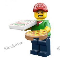 71007 - DOSTAWCA PIZZY-  12 SERIA LEGO MINIFIGURKI