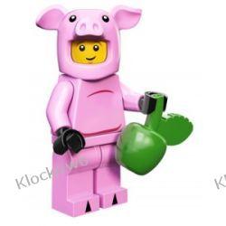 71007 - ŚWINKA -  12 SERIA LEGO MINIFIGURKI
