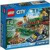 60066 POLICJA WODNA- ZESTAW STARTOWY ( Swamp Police Starter Set) KLOCKI LEGO CITY