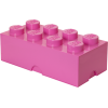 POJEMNIK LEGO 8 RÓŻOWY - LEGO POJEMNIKI