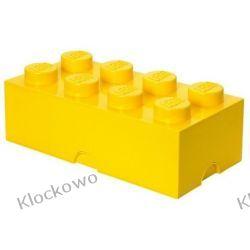 POJEMNIK LEGO 8 ŻÓŁTY - LEGO POJEMNIKI