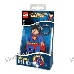 MINI LATARKA LED LEGO - SUPERMAN - BRELOK Straż