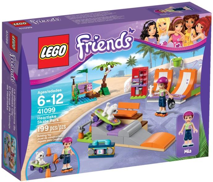 41099 Skate Park W Heartlake Heartlake Skate Park Klocki Lego