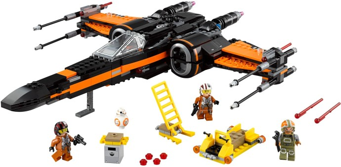 75102 Poes X Wing Fighter Klocki Lego Star Wars Lego Star Wars
