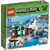 21120 - ŚNIEZNA PUŁAPKA (The Snow Hideout)- KLOCKI LEGO MINECRAFT