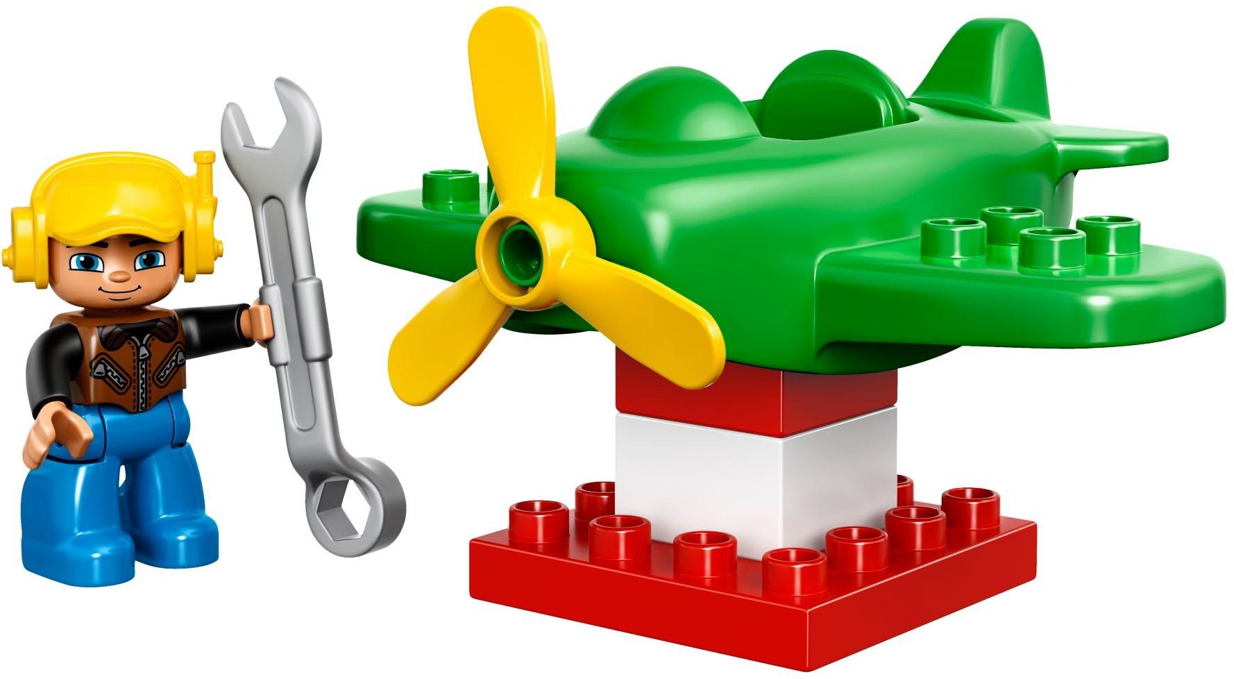 10808 Mały Samolot Little Plane Klocki Lego Duplo Lego Duplo