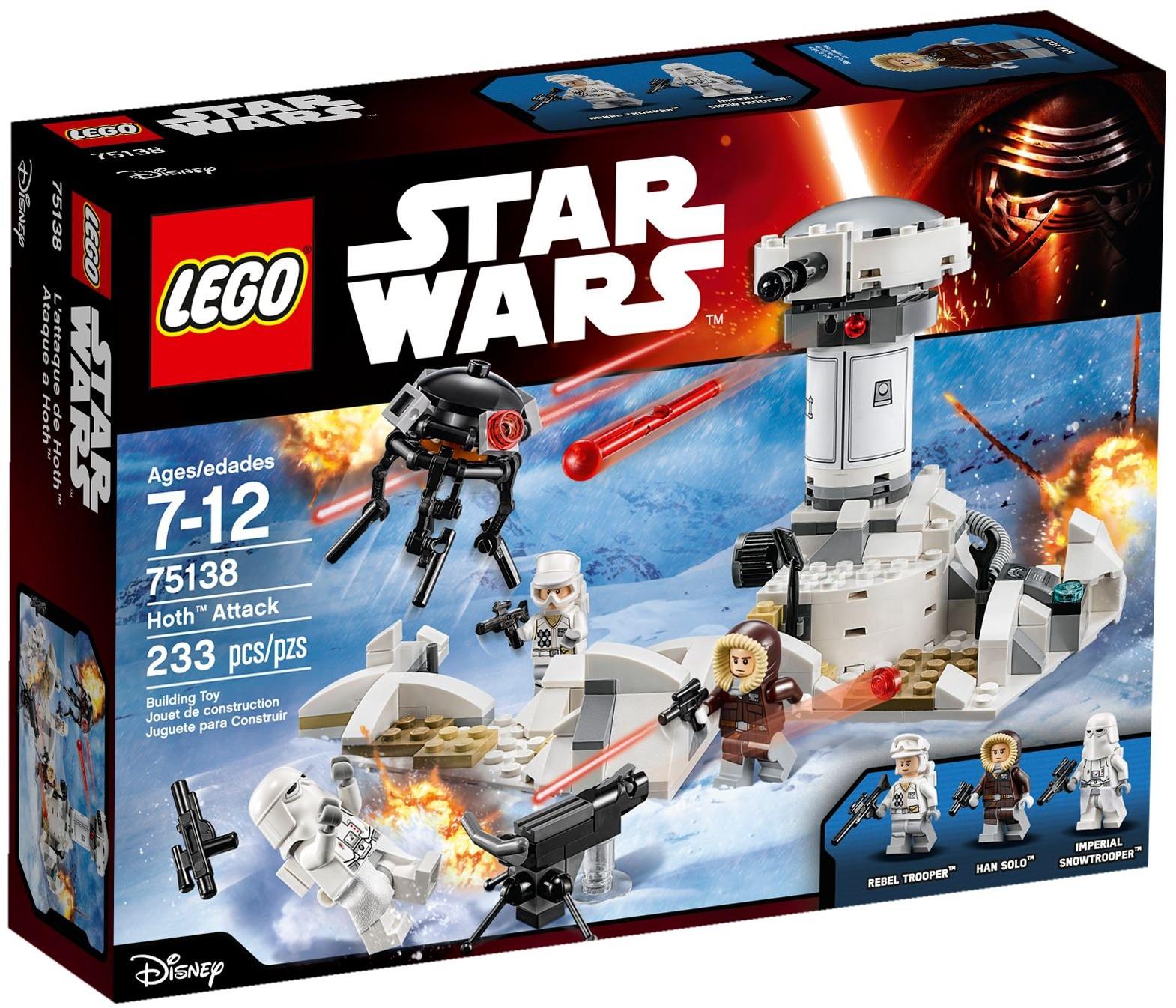75138 Atak Hoth Hoth Attack Klocki Lego Star Wars Lego Star Wars