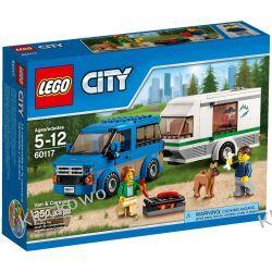 60117 WÓZ Z PRZYCZEPĄ KEMPINGOWĄ (Van & Caravan) KLOCKI LEGO CITY