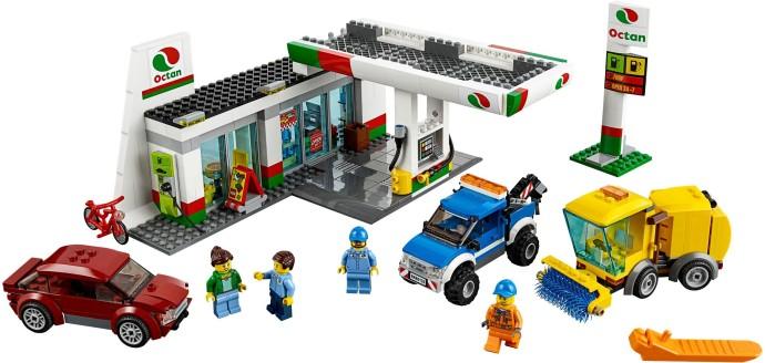 60132 Stacja Paliw Service Station Klocki Lego City Lego City