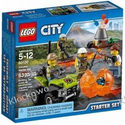 60120 WULKAN ZESTAW STARTOWY (Volcano Starter Set) KLOCKI LEGO CITY
