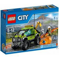 60121 SAMOCHÓD NAUKOWCÓW (Volcano Exploration Truck) KLOCKI LEGO CITY