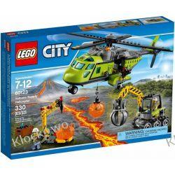 60123 HELIKOPTER DOSTAWCZY (Volcano Supply Helicopter) KLOCKI LEGO CITY