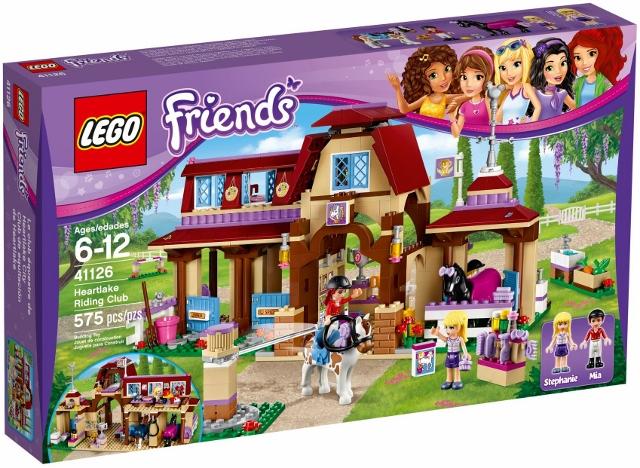 41126 Klub Jeździecki Heartlake Heartlake Riding Club Klocki Lego