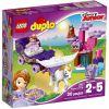 10822 JEJ WYSOKOŚĆ ZOSIA - MAGICZNA KARETA (Sofia the First Magical Carriage) KLOCKI LEGO DUPLO